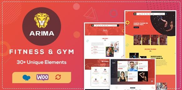 Arima v1.6-体育馆,拳击WordPress主题