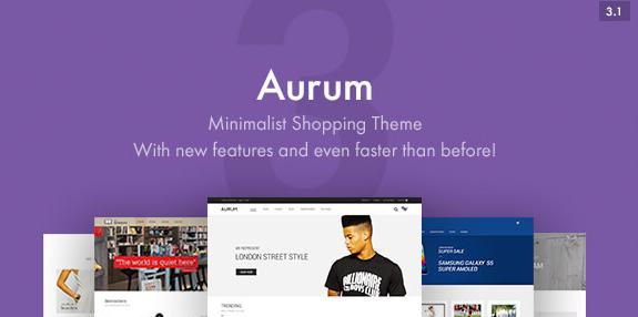 Aurum v3.8-极简购物主题
