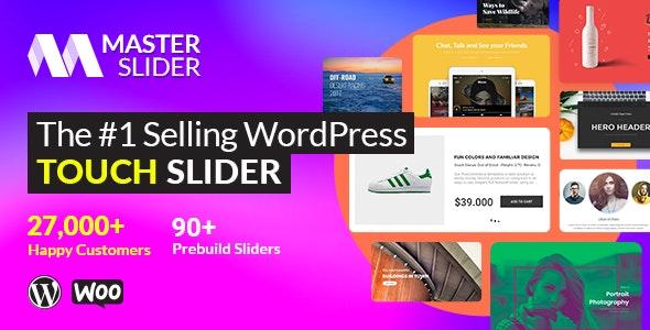 Master Slider v3.4.7 –触摸层滑块WordPress插件