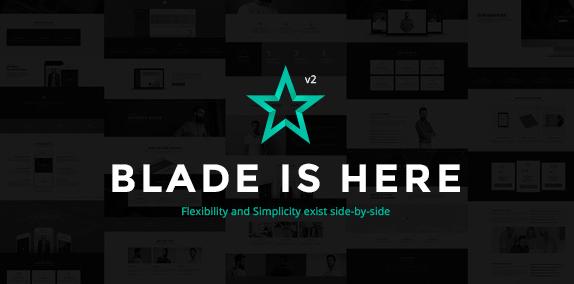 Blade v3.3.1-响应式多功能WordPress主题