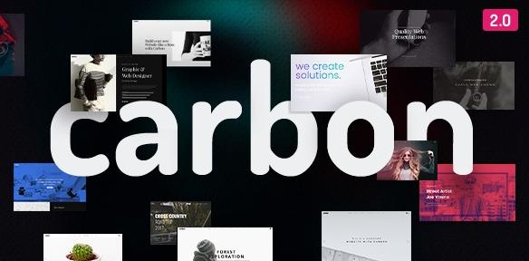 Carbon v2.7.3-清洁最小的多用途WordPress主题