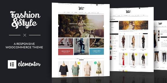 Fashion v4.3.0-WooCommerce响应式WordPress主题