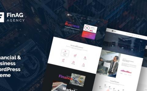 Finag v1.4.2 – Creative&Finance Agency WordPress Theme