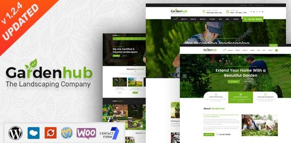 Garden HUB v1.2.5-草坪和园林绿化WordPress主题
