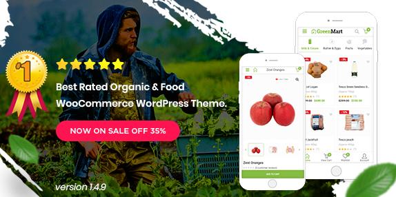 Greenmart v3.0.3-有机和食品Woocommerce WordPress主题