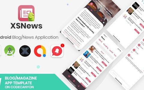 XSNews v1.0    Android新闻/博客多用途应用程序 [XServer]