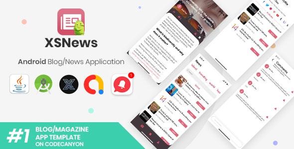 XSNews v1.0 |  Android新闻/博客多用途应用程序 [XServer]