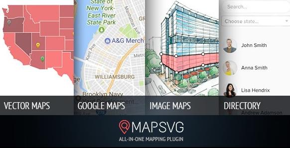 MapSVG v5.15.3-您永远需要的最后一个WordPress Map插件