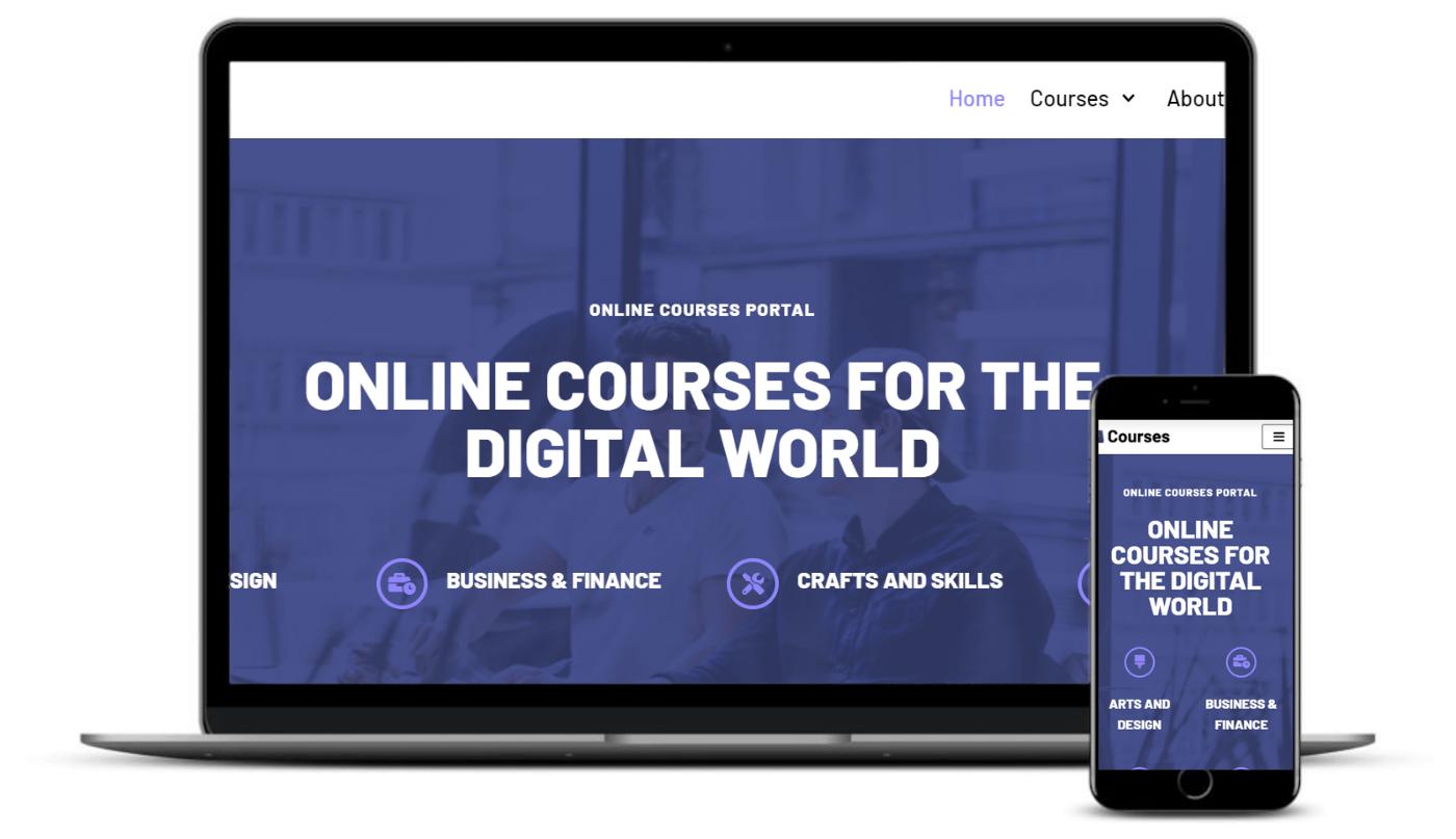 Neve Online Courses是一个eLearning WordPress主题。