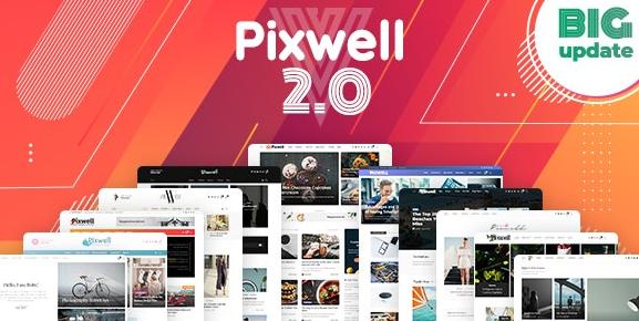 Pixwell v6.0-现代杂志WordPress主题