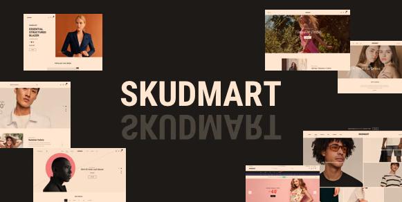 Skudmart v1.1.0-干净,最小的WooCommerce主题