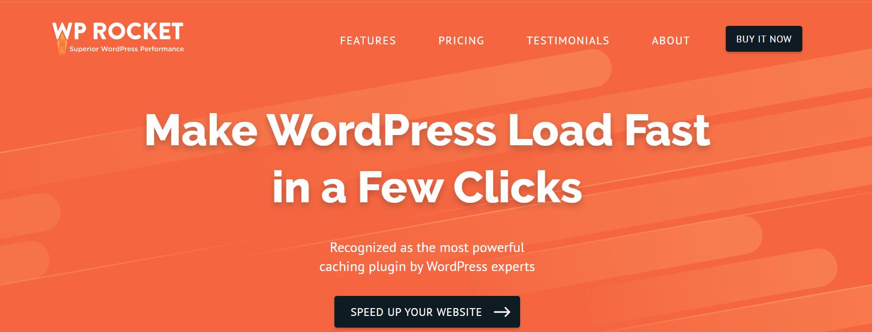 WP Rocket插件是博主必备的WordPress插件。