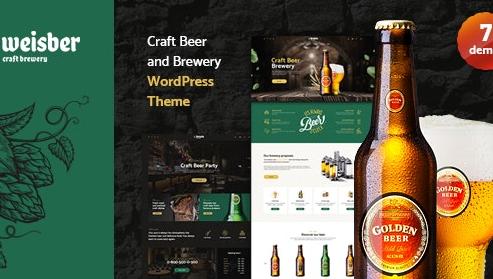 Weisber v1.1.6-精酿啤酒和WordPress WordPress主题