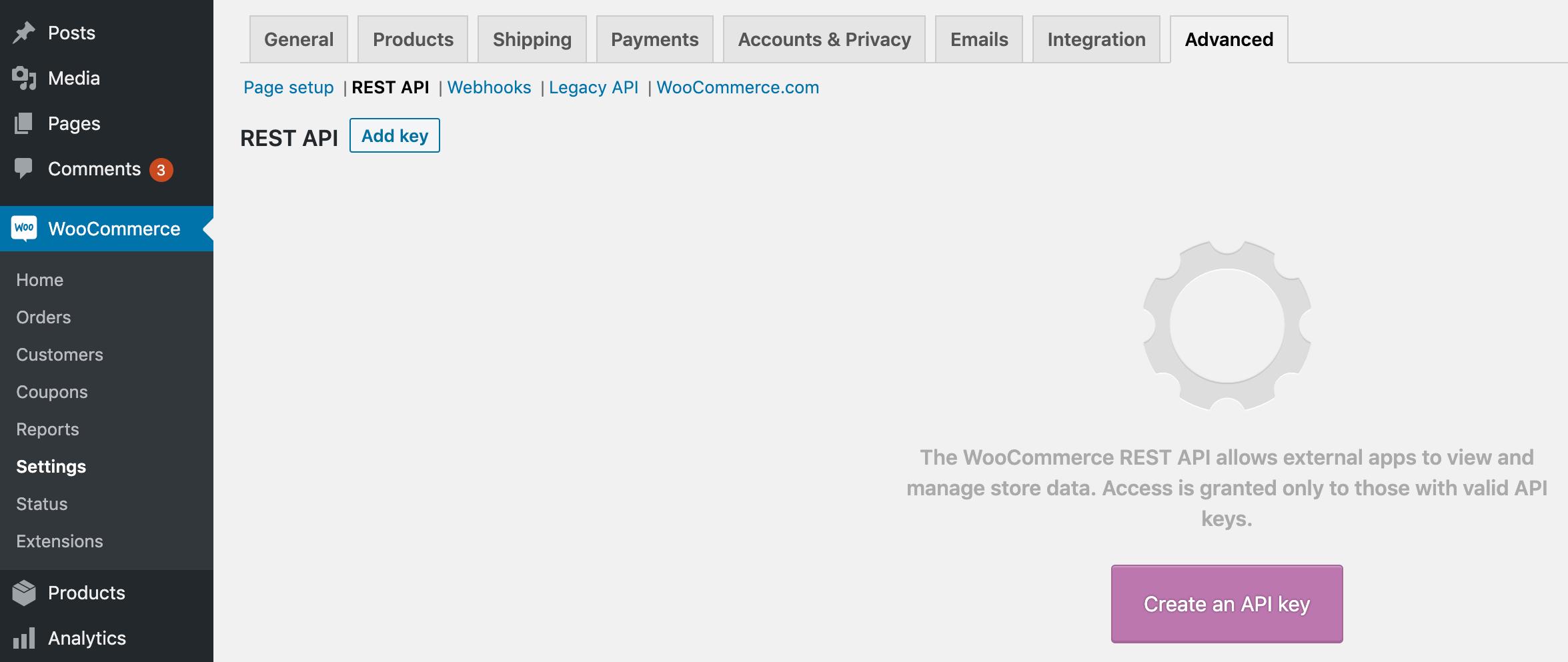 woocommerce API的简单指南WooCommerce API的简单指南