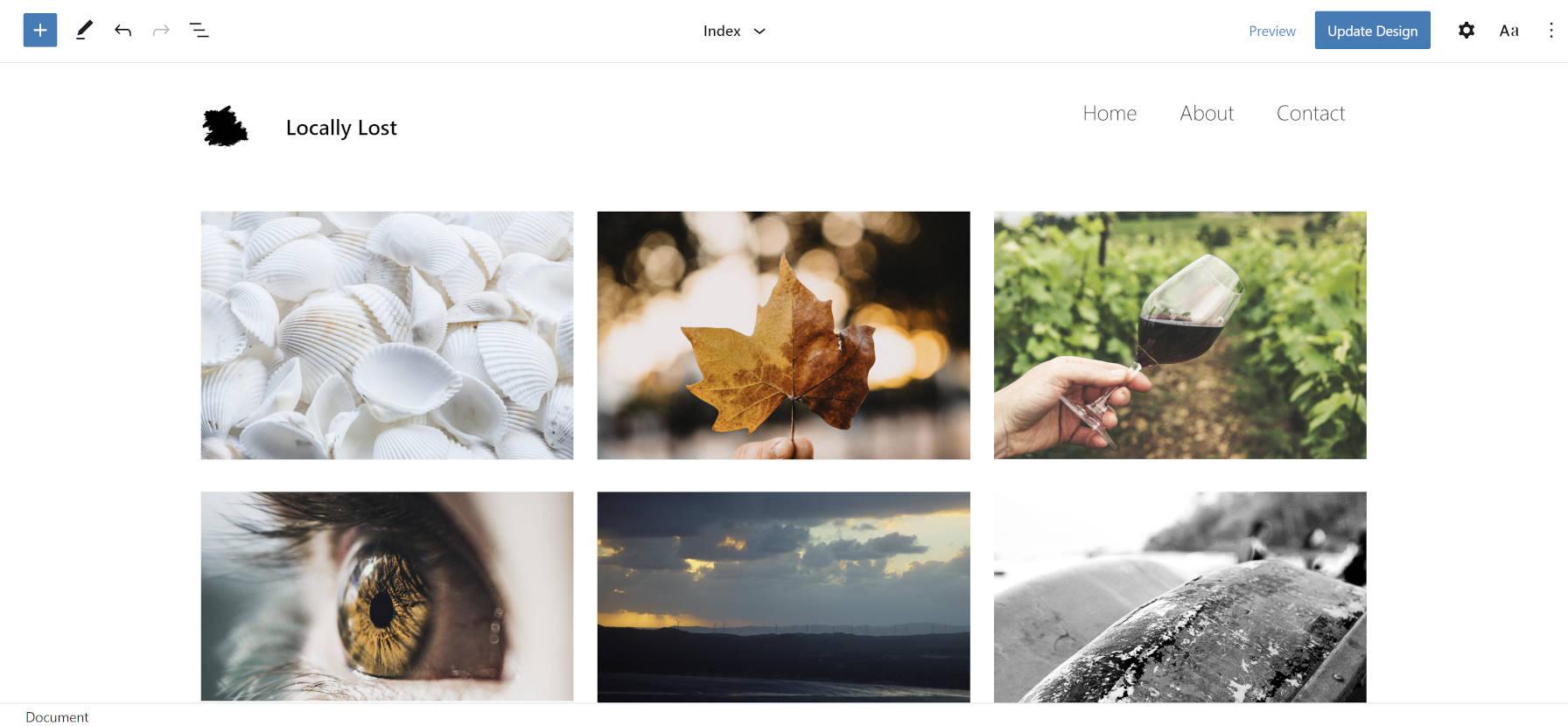 探索照片块,一个实验性的,准备就绪的照片博客主题探索照片块,一个实验性的FSE准备就绪的照片博客主题