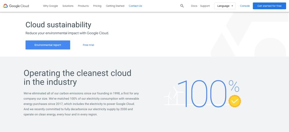 Google Cloud环境