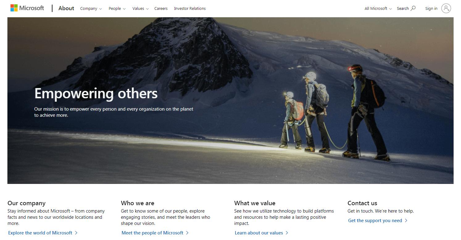 WordPress页面与帖子之间的区别:页面示例