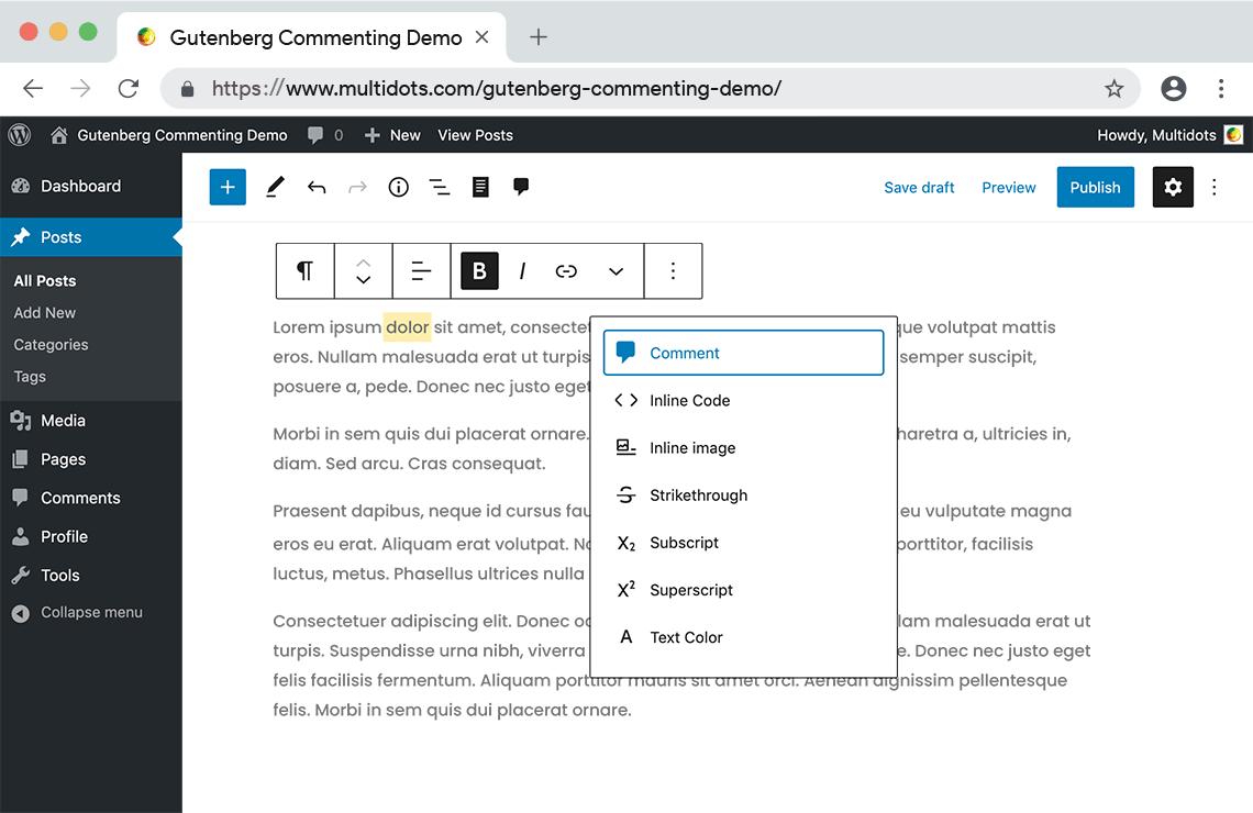 new-plugin-adds-google-doc-style-commenting-to-gutenberg-blocks-1新插件将Google-Doc-Style注释添加到Gutenberg Blocks