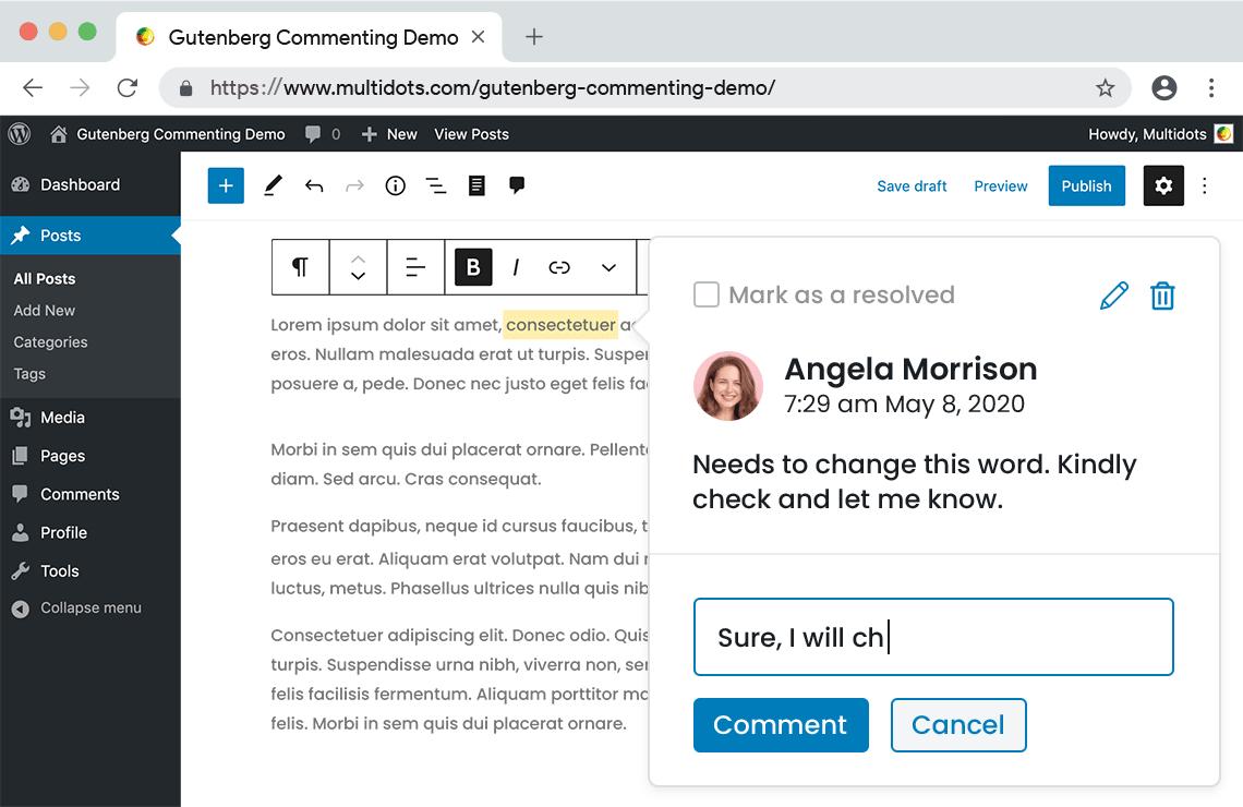 new-plugin-adds-google-doc-style-commenting-to-gutenberg-blocks新插件将Google-Doc-style注释添加到Gutenberg Blocks