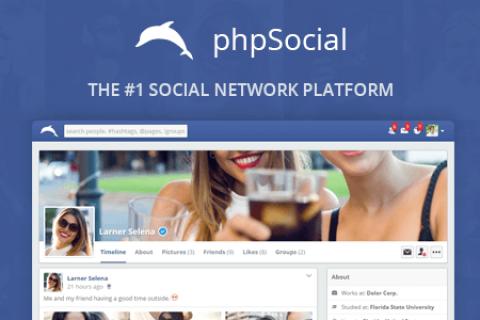 phpSocial v6.3.0 –社交网络脚本