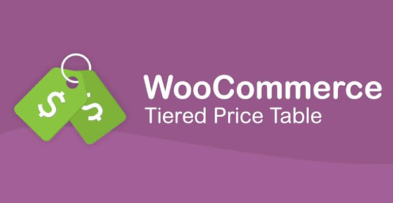 WooCommerce分层价格表
