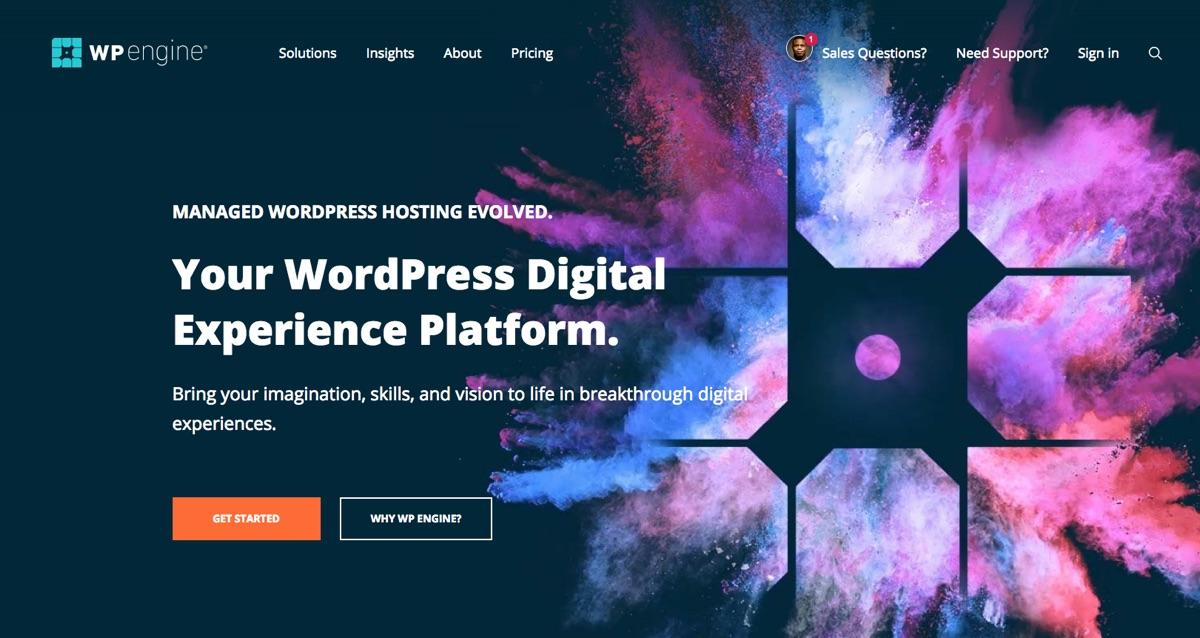 WP Engine:高级托管WordPress托管