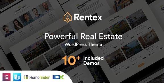 Rentex v1.7.0-房地产WordPress主题