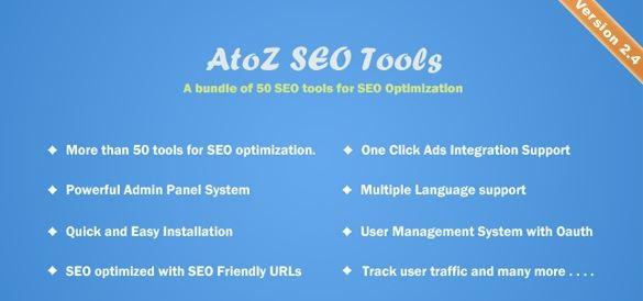 AtoZ SEO工具v2.9-搜索引擎优化工具