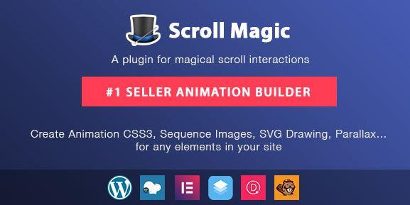 Scroll Magic WordPress v4.1.3-滚动动画生成器插件