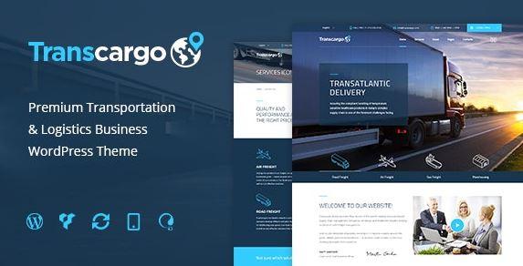 Transcargo v2.4-物流运输WordPress主题