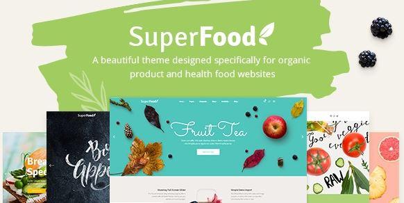 Superfood v1.3.1-有机食品和保健产品的生动主题