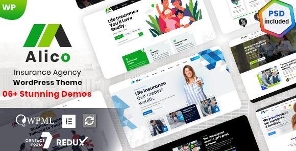 Alico v1.0.6-保险WordPress主题