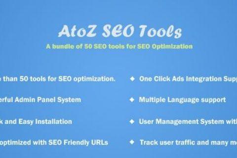 AtoZ SEO工具v2.9 –搜索引擎优化工具