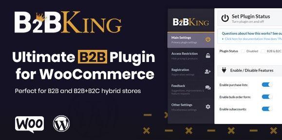 B2BKing v3.0.0-终极WooCommerce B2B和批发插件