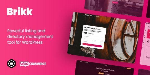 Brikk v1.2.3-目录和列表WordPress主题