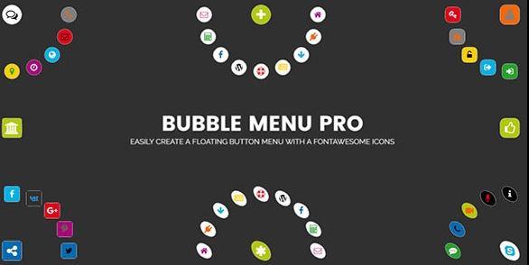 Bubble Menu Pro v2.0-创建带有图标的超棒圆形菜单