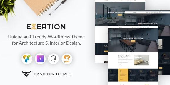 Exertion v1.3-建筑与室内设计WordPress主题