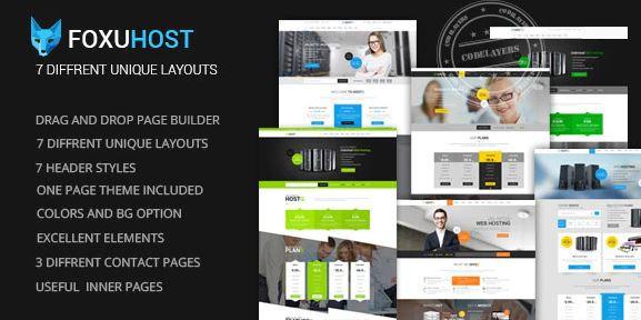 FoxuhHost v1.4-商店,企业和网络托管WordPress主题+ WHMCS