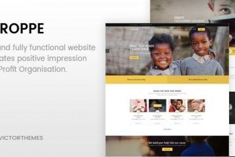 Groppe v2.7 –非营利WordPress主题