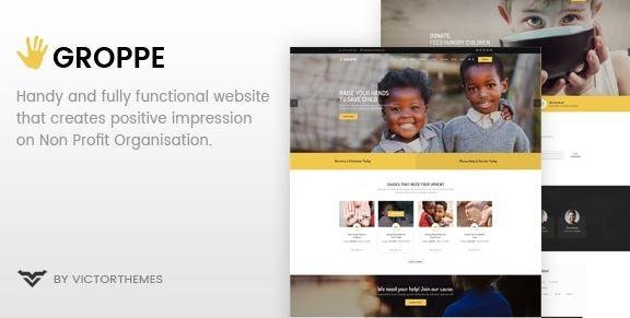 Groppe v2.7-非营利WordPress主题