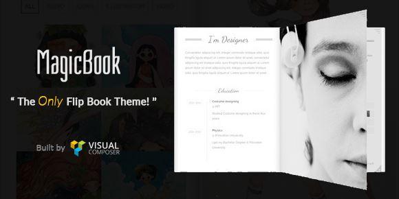 MagicBook v1.2.5-3D动画书WordPress主题