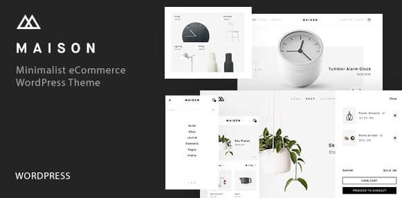 Maison v1.23-极简电子商务WordPress主题
