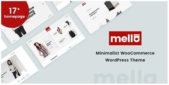 Mella v1.2.19-极简Ajax WooCommerce WordPress主题