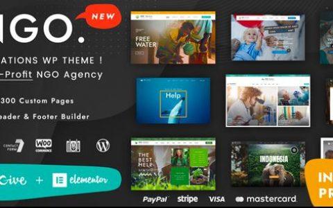 Ngo v1.1 –慈善与捐赠WordPress主题