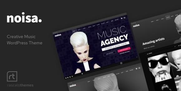 Noisa v2.5.5-WordPress的音乐制作人,乐队和活动主题