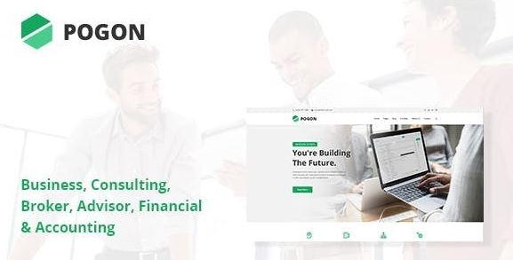 Pogon v1.0.5-商业和金融企业WordPress主题