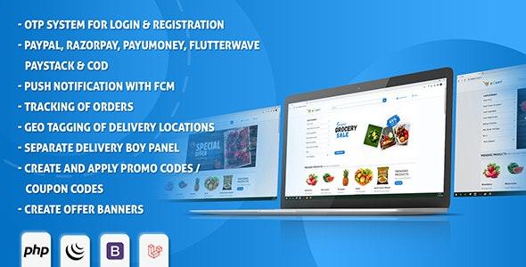 eCart Web v1.0.1 –电子商务/商店完整网站