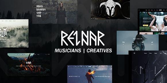 Reinar v1.2.7-北欧灵感的音乐和创意WordPress主题为空