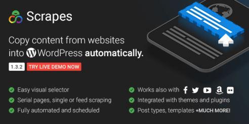 Scrapes v2.1.0-自动WordPress的Scraper和Content Crawler插件为空
