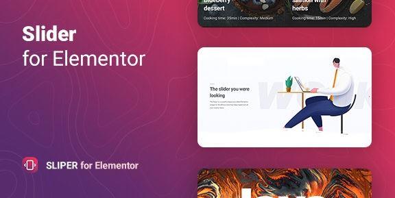Sliper v1.0.0-Elementor的全屏滑块